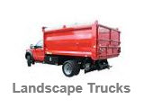 Landscape and Chipper Trucks